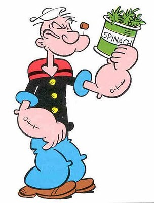 Popeye Burger Guy